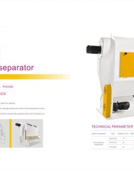 Circulate-air-separator
