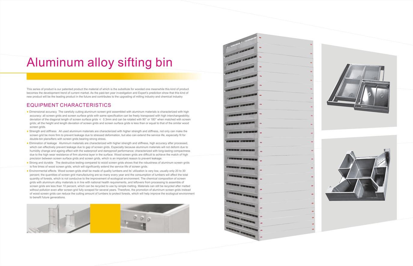 Aluminium Sieve frames and boxes – SA